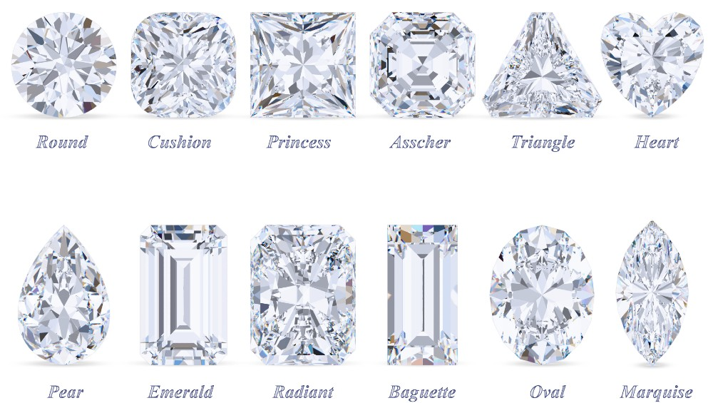 most popular diamond cuts for engagement rings